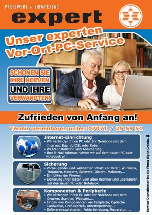 Expert Mössingen PC Service